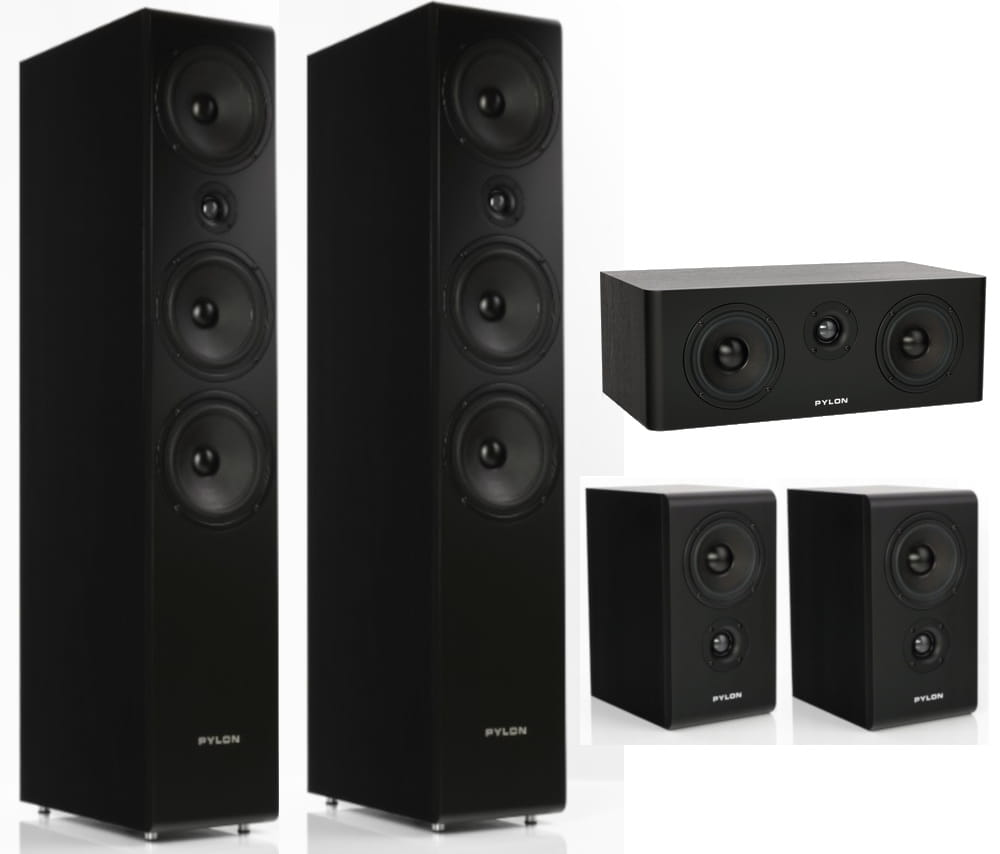 loa pylon audio opal sat series