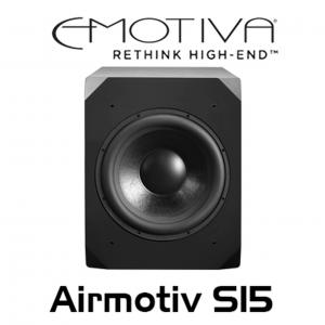 Loa Emotiva Airmotiv S15 – Loa subwoofer giá phổ thông và những ưu điểm vượt trội