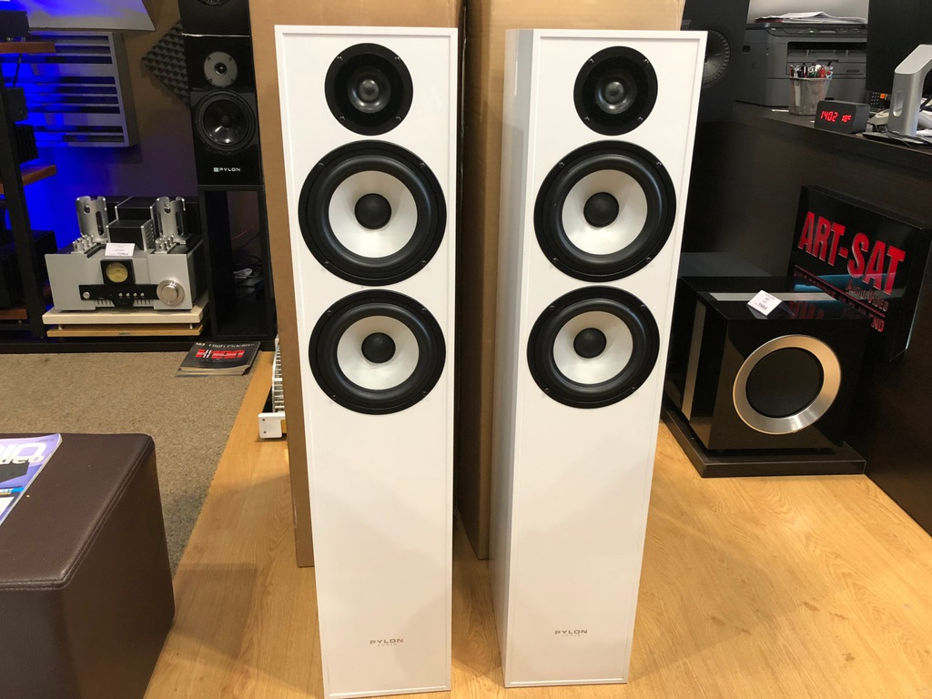 Loa Pylon Audio Pearl 25 WHITE