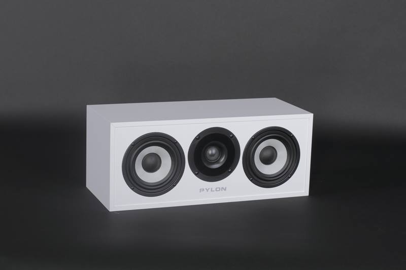 loa pylon audio pearl center white