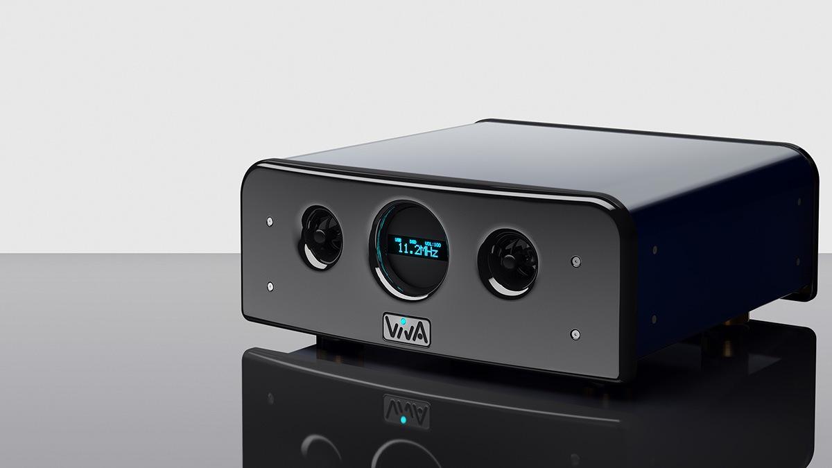 Viva Audio Numerico DAC nghieng