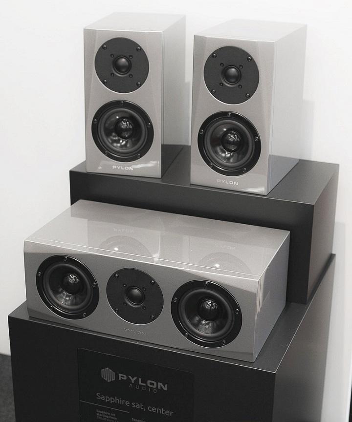 loa pylon audio sapphire center