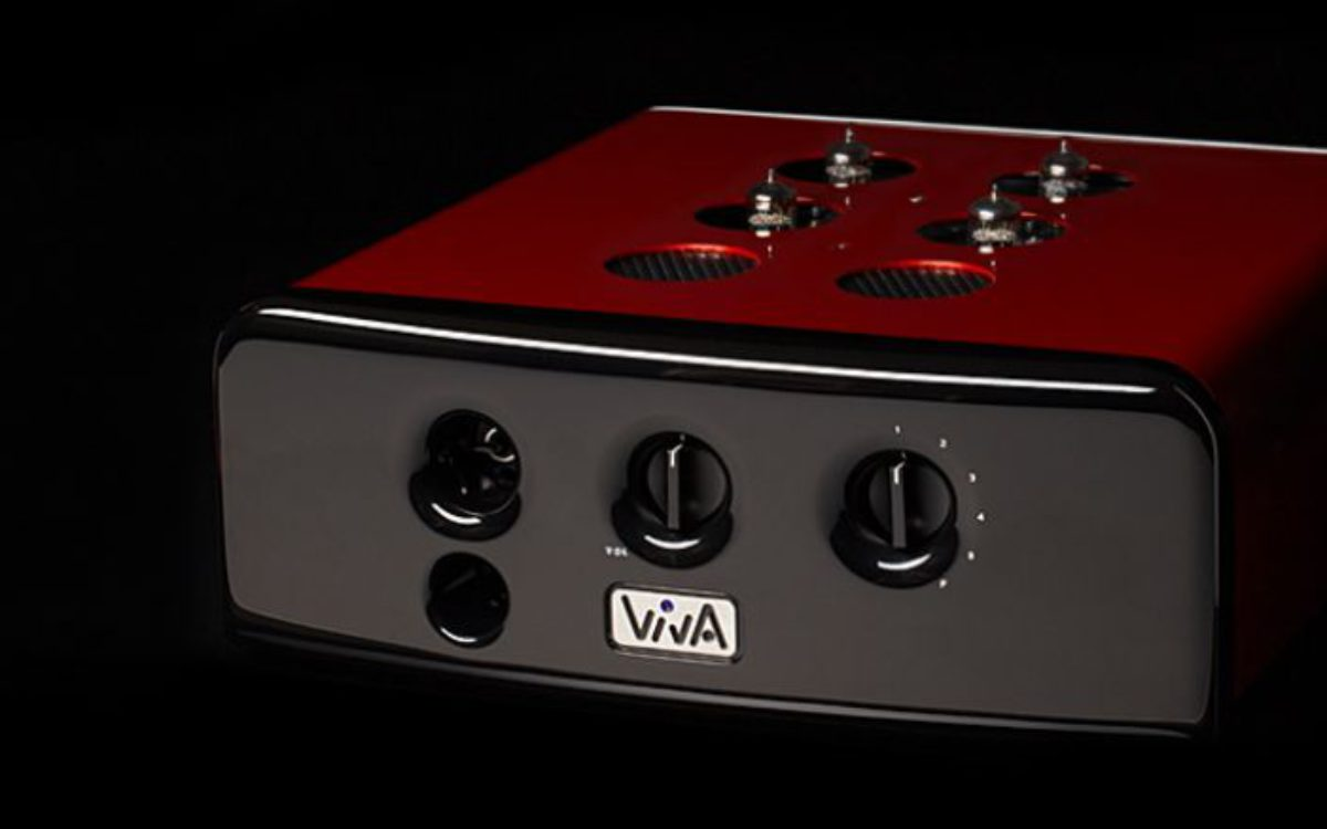 preamp viva audio L1 red