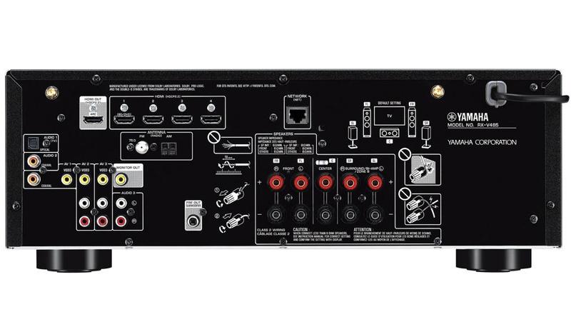 ampli Yamaha RX V485 sau