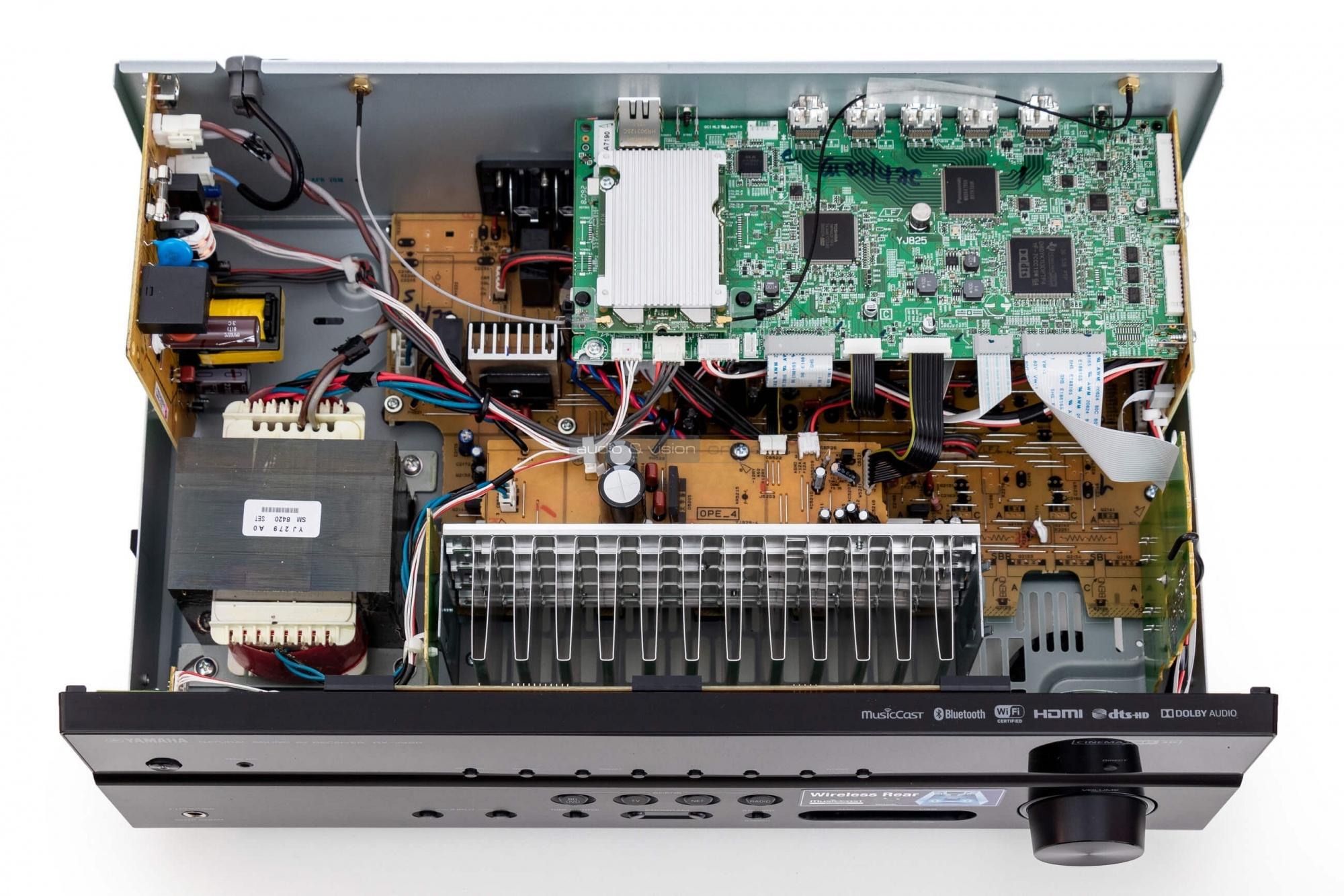 ampli Yamaha RX V485 trong