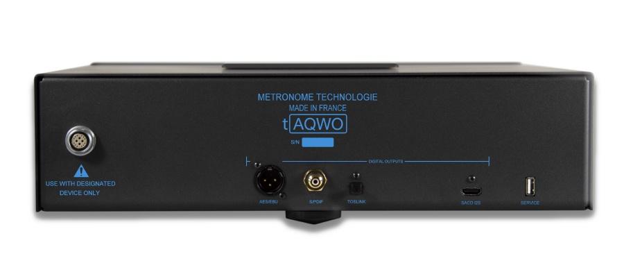 CD Transport Metronome tAQWO sau