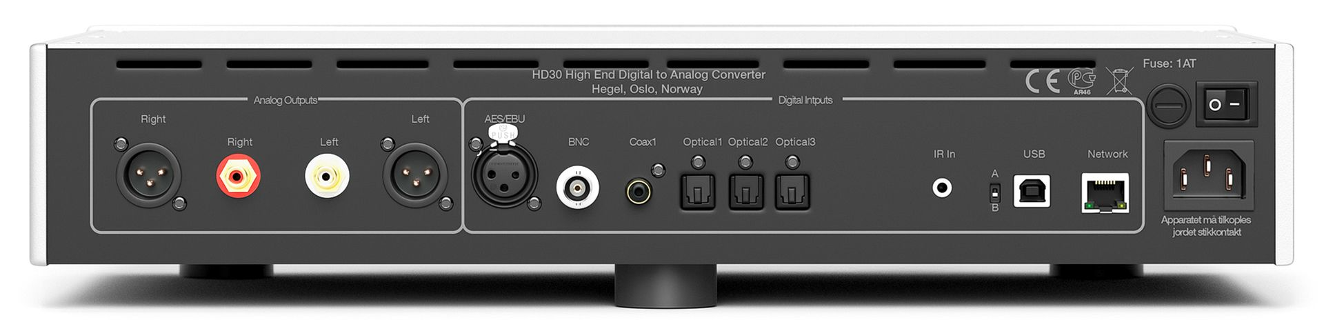 DAC Hegel HD30 sau